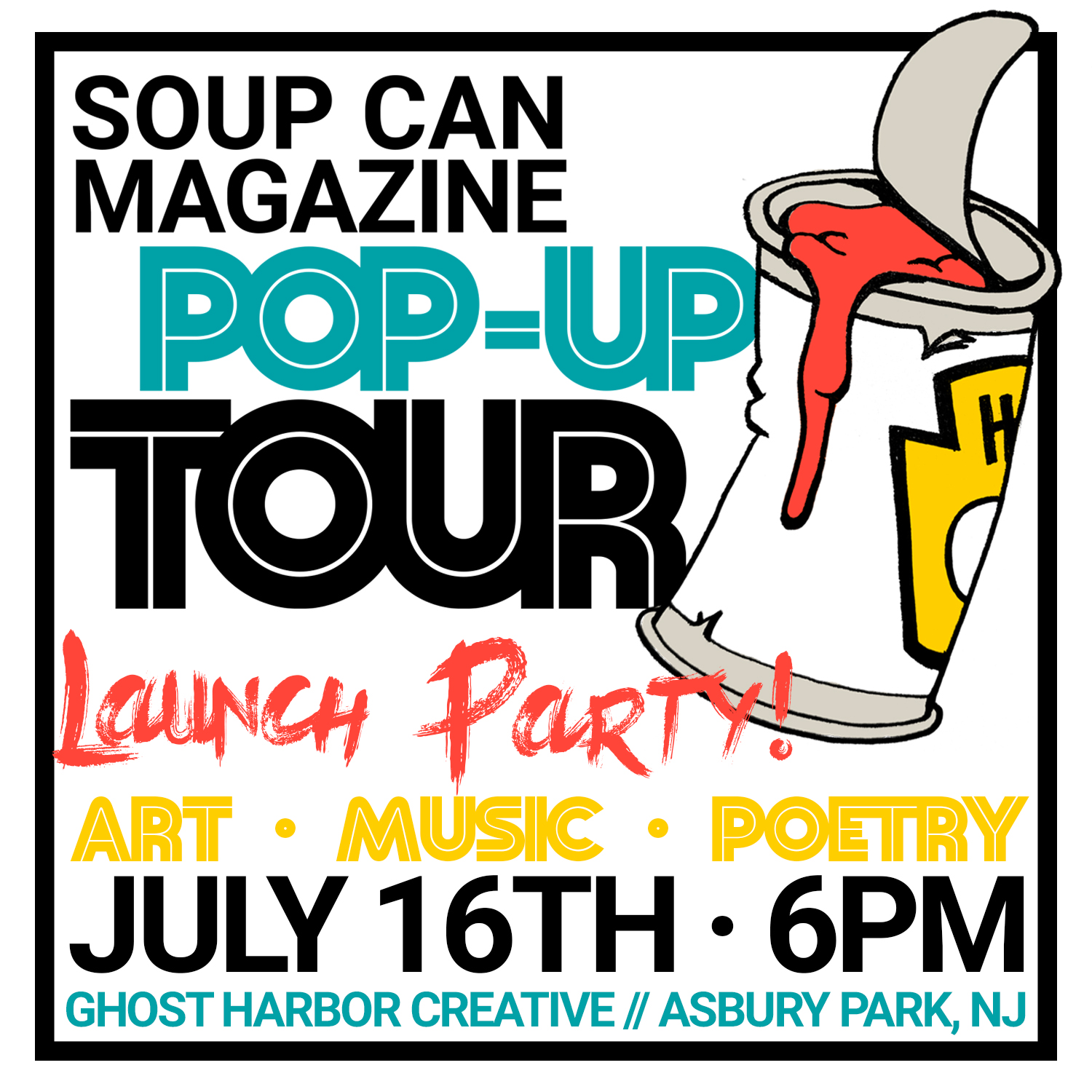 Soup Can Launch Party
